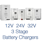 3 Stage Battery Chargers