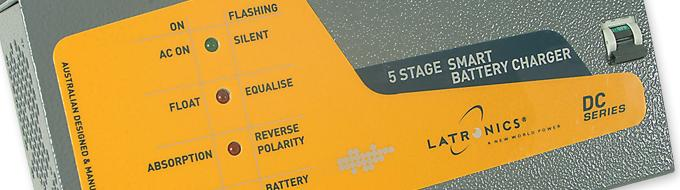 5 stage battery charger