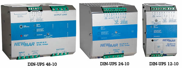 DIN UPS Series DIN Rail UPS - GFS Power